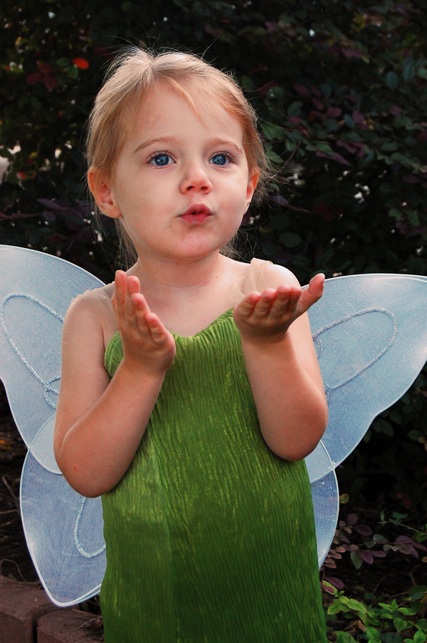 DIY Tinkerbell Costume from The Nesting Spot