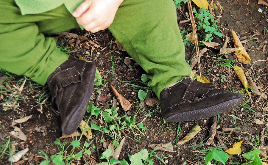 Peter Pan Feet