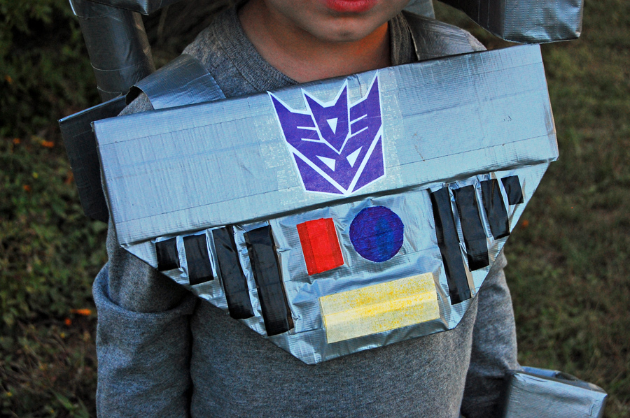 transformers chest piece
