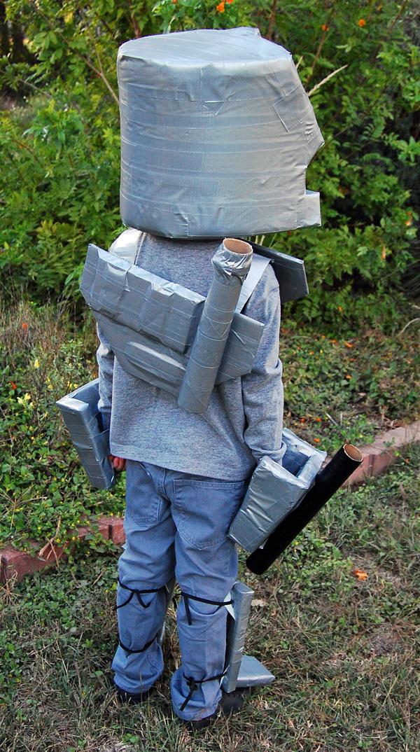 Back of Megatron's helmet