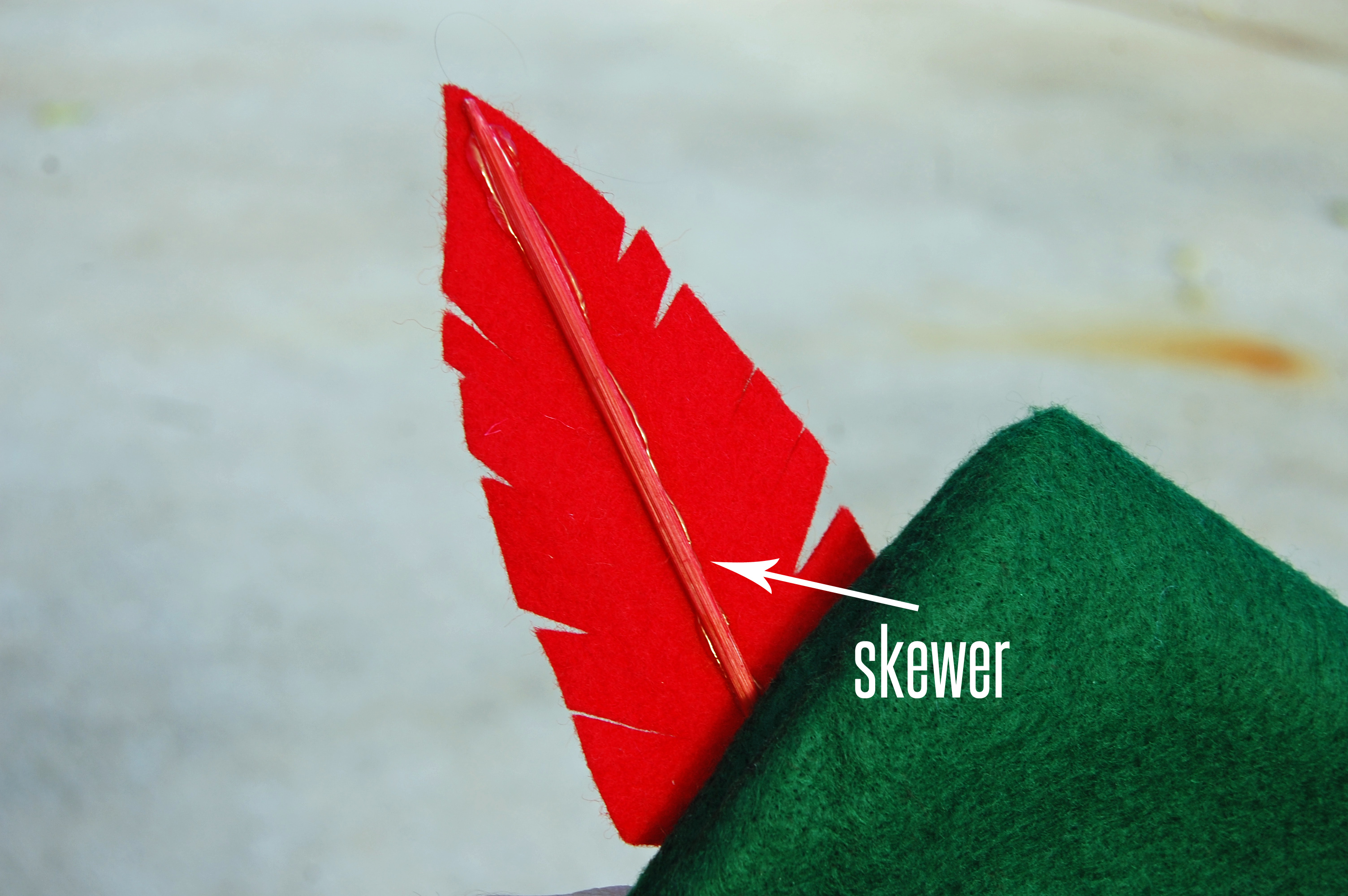 DIY Feather from The Nesting Spot
