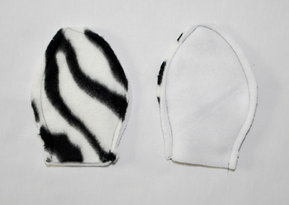zebra ears inside out