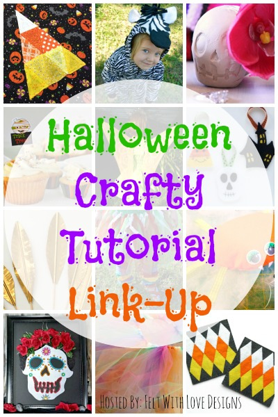 Halloween Crafty Tutorial Link-Up