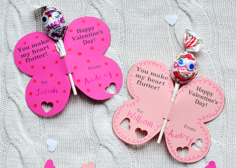 Free Printable Valentine from The Nesting Spot