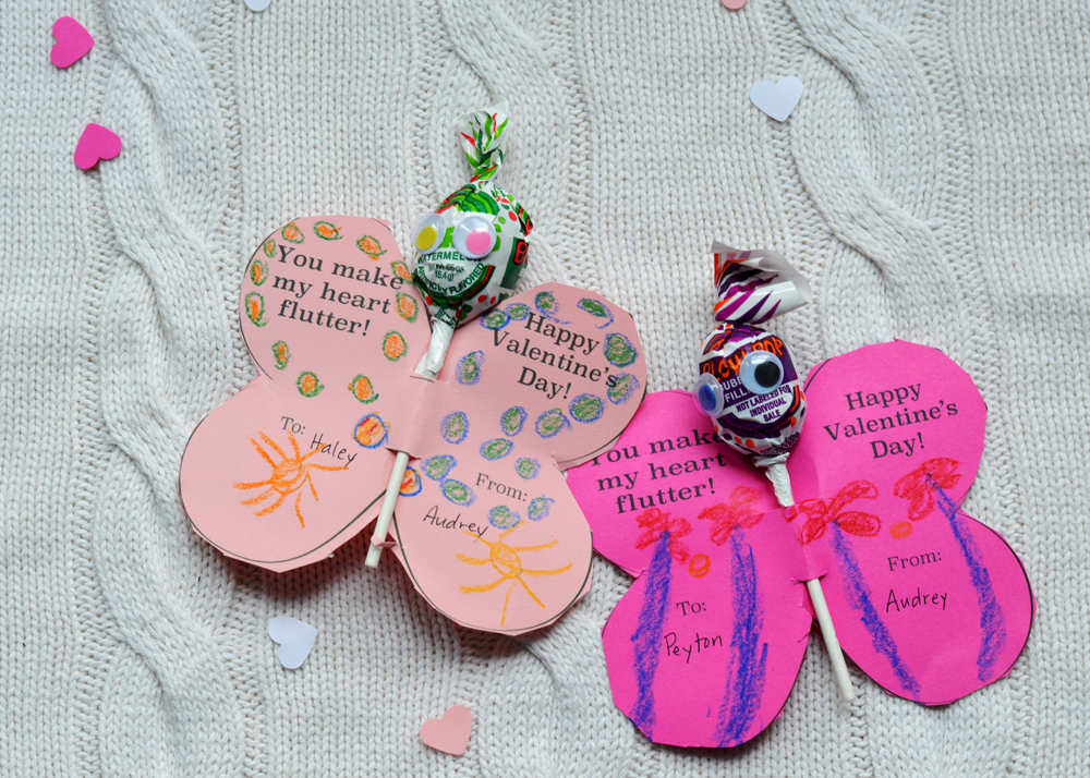 Free Printable Valentines from The Nesting Spot