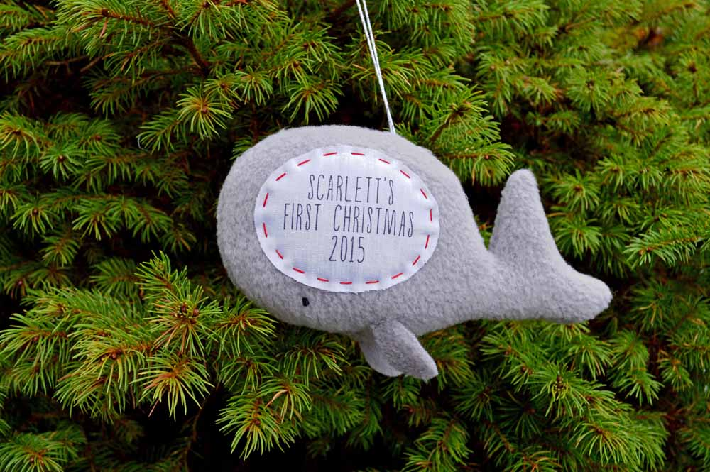 whale ornament 2015