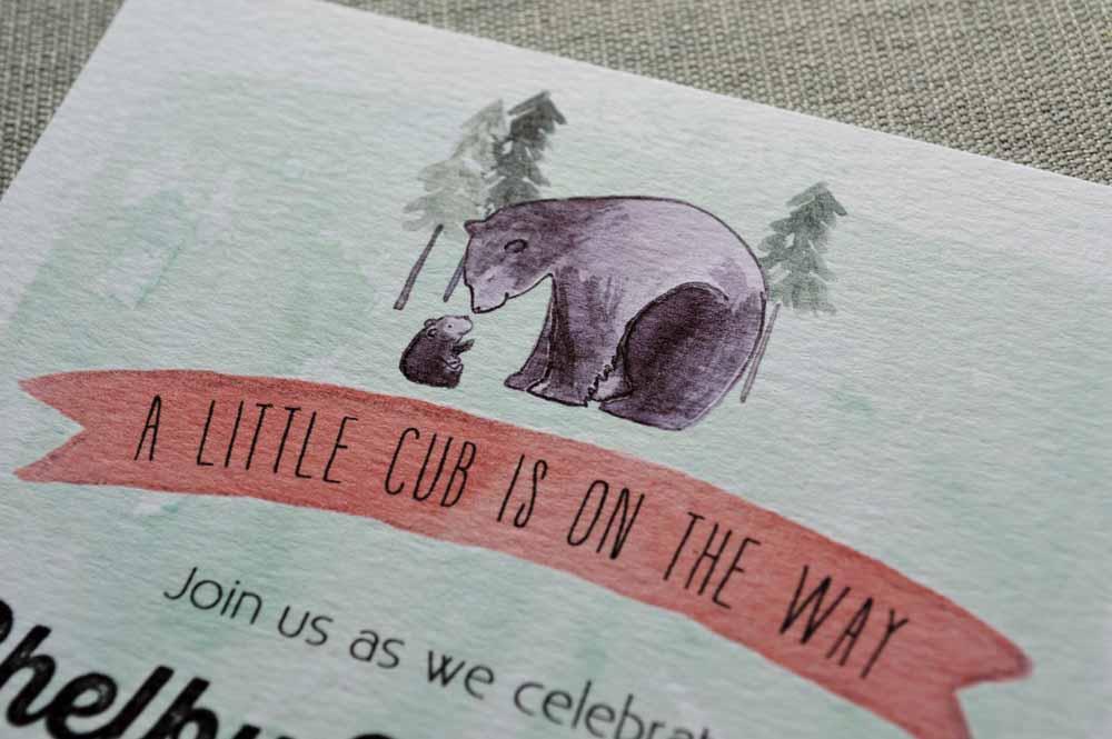 bear invitation