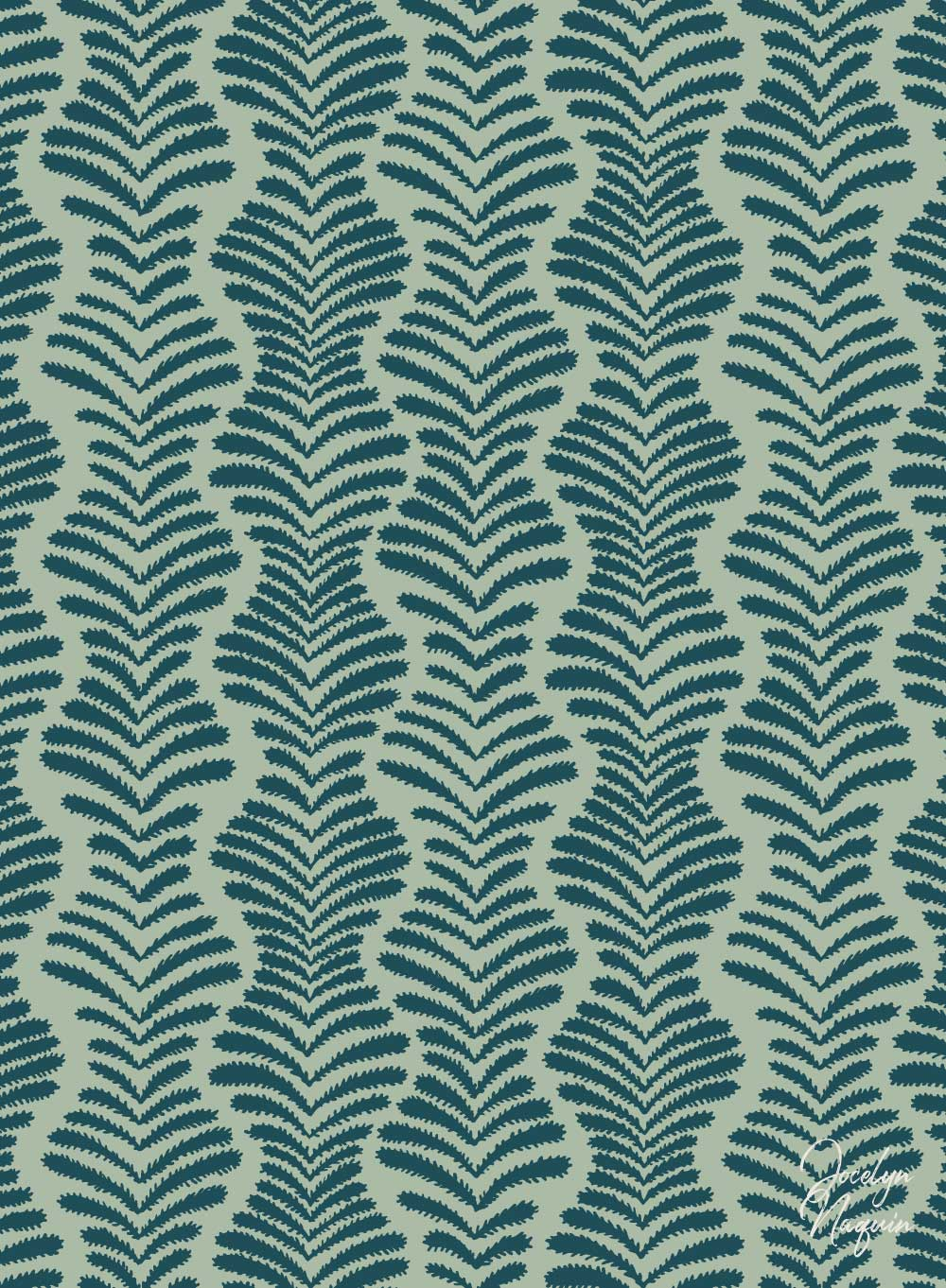Sea Weed Surface Pattern Design
